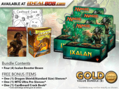 MTGXLN Bundle (B) Gold - Get x4 Ixalan Booster Box + FREE Bonus Items
