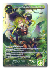 Fiethsing, the Magus of Holy Wind [World Top Players Reward (Full Art FOIL)] English Promo