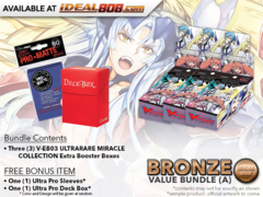 CFV-V-EB03  Bundle (A) Bronze - Get x3 ULTRARARE MIRACLE COLLECTION Cardfight Vanguard Booster Box + FREE Bonus Items