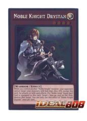 Noble Knight Drystan - NKRT-EN008 - Platinum Rare - Limited Edition