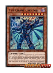 The Chaos Creator - TOCH-EN006 - Ultra Rare - 1st Edition