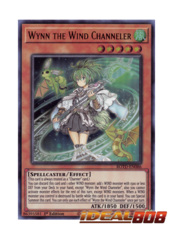 Wynn the Wind Channeler - ROTD-EN086 - Ultra Rare - 1st Edition