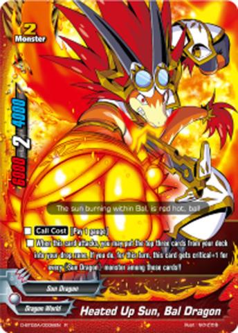 Heated Up Sun, Bal Dragon [D-BT02A/0006EN R (FOIL)] English