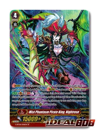 Mist Phantasm Pirate King, Nightrose - G-BT06/S06EN - SP