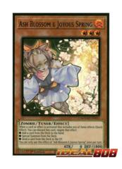 Ash Blossom & Joyous Spring - MAGO-EN011 - Premium Gold Rare - 1st Edition