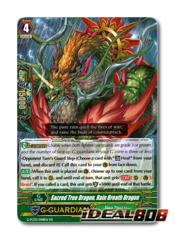 Sacred Tree Dragon, Rain Breath Dragon - G-FC03/048 - RR