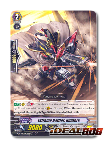 Cardfight Vanguard  x 4 Diviner G-BT01//054EN C Pack Fresh Mint Shinatsuhiko