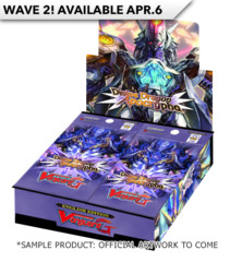 CFV-G-BT14 Divine Dragon Apocrypha (English) Cardfight Vanguard G-Booster Box (2nd wave) * Ships Apr.06