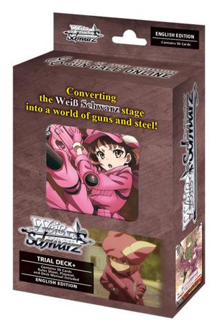 Sword Art Online Alternative : Gun Gale Online (English) Weiss Schwarz Trial Deck+ (Plus)