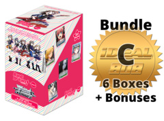 Weiss Schwarz BD/W73 Bundle (C) Gold - Get x6 BanG Dream! Vol.2 Booster Boxes + FREE Bonus Items * PRE-ORDER Ships Jul.03