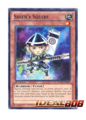 Shien's Squire - SDWA-EN019 - Common - 1st Edition