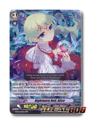 Nightmare Doll, Alice  - BT03/003EN - RRR