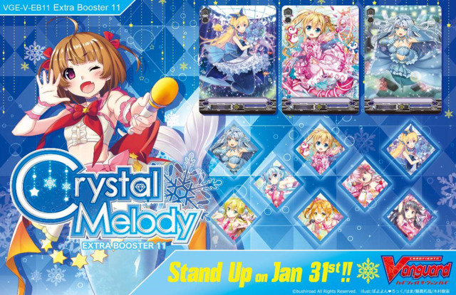 CFV-V-EB11  BUNDLE (B) Silver - Get x6 Crystal Melody CFV Booster Box + FREE Bonus Items * PRE-ORDER Ships Jan.31, 2020