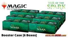 War of the Spark Booster  Case [6 Boxes]