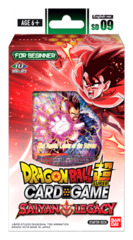 DBS-SD09 Saiyan Legacy (English) Dragon Ball Super Starter Deck
