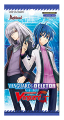 CFV-G-CMB01 Vanguard and Deletor (English) Cardfight Vanguard G-Comic Booster Pack