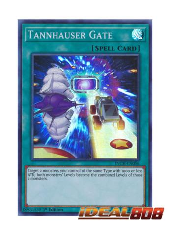 Tannhauser Gate - INCH-EN056 - Super Rare - 1st Edition