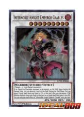 Infernoble Knight Emperor Charles - ROTD-EN042 - Ultra Rare - 1st Edition