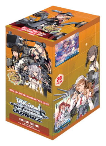 KanColle: Arrival! Reinforcement Fleets from Europe! (English) Weiss Schwarz Booster Box