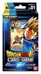 DBS-XD01 Universe 6 Assailants (English) Dragon Ball Super Expert Deck
