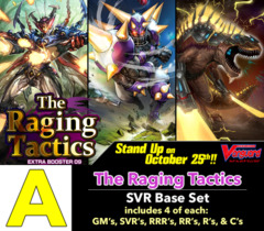 # The Raging Tactics [V-EB09 ID (A)] SVR Base Set [4 of each SVR's, RRR's, RR's, R's, & C's (264 cards)]