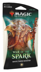 War of the Spark (WAR) Themed Booster Pack - White [35 cards]