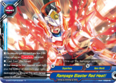 Rampage Blaster Red Heat! [X2-BT01A-SP/0030EN R (Glossy)] English
