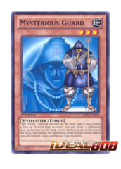 Mysterious Guard - BP01-EN058 - Starfoil Rare - 1st Edition