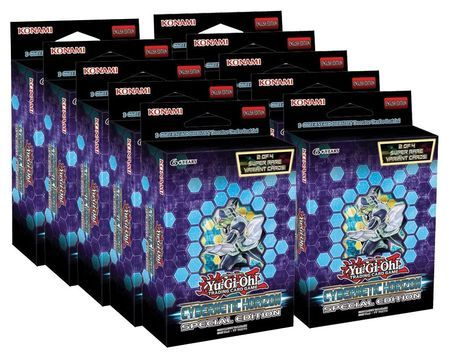 yugioh flames of destruction special edition display box