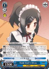 Maid Outfit Miyu [PI/EN-S04-E039S SR (FOIL)] English