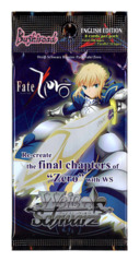 Fate/Zero (English) Weiss Schwarz Booster Pack