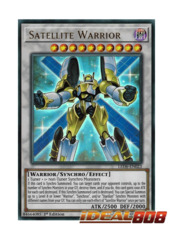 Satellite Warrior - LED6-EN023 - Ultra Rare - 1st Edition