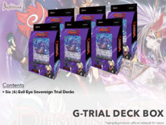 CFV-G-TD13 Evil Eye Sovereign (English) G-Trial Deck Box [Contains 6 Decks]
