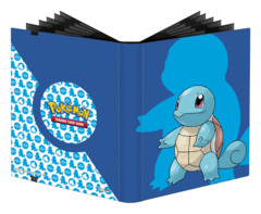 Pokemon Ultra Pro 9-Pocket PRO-Binder Album - Squirtle 2020 with Icon Pattern (#15393)