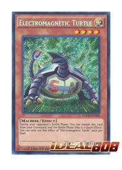 Electromagnetic Turtle - YGLD-ENA00 - Secret Rare - 1st Edition