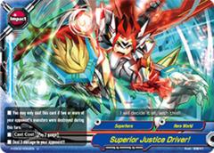 Superior Justice Driver! - H-EB02/0062 - U - Foil