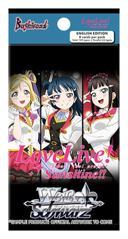 Love Live! Sunshine!! (English) Weiss Schwarz Extra Booster Pack