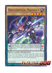 Dragonpulse Magician - SDMP-EN001 - Common - 1st Edition