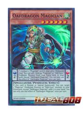 Oafdragon Magician - SDMP-EN004 - Super Rare - 1st Edition