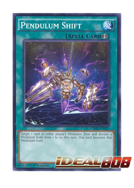 Pendulum Shift - SDMP-EN027 - Common - 1st Edition