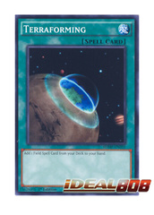 Terraforming - SDMP-EN035 - Common - 1st Edition