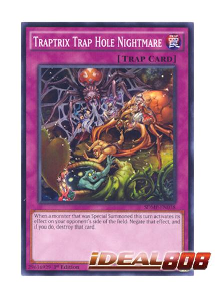 Traptrix Trap Hole Nightmare - SDMP-EN038 - Common - 1st Edition