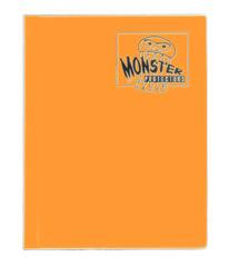 Monster Protectors 4 Pocket Binder - Matted Orange