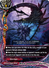 Black Downpour, Zicron [D-BT04/0062EN U (FOIL)] English