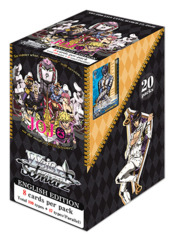 Weiss Schwarz JJ Bundle (B) Silver - Get x4 JoJo's Bizarre Adventure: Golden Wind Booster Boxes + FREE Bonus Items