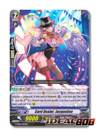 Card Dealer, Jacqueline - G-TD07/007EN - TD (common ver.)