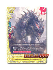 Destruction Demon, Razorback - H-EB03/0052 - U