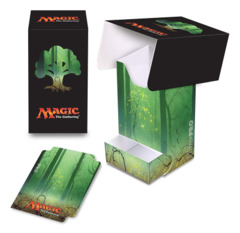 Magic the Gathering MANA 5 Ultra Pro Deck Box with Tray - Unhinged Forest (#86535)
