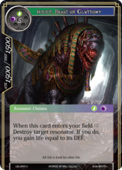 Ammit, Beast of Gluttony [LEL-043 U (Regular)] English