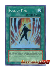 Soul of Fire - FOTB-EN031 - Super Rare - 1st Edition